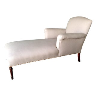"""Antique """"Alice"""" Chaise Lounge"""
