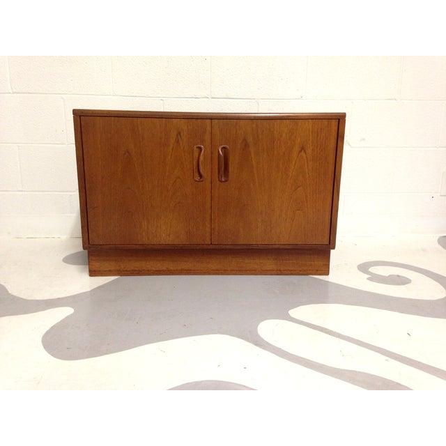 Mid-Century Two Door Teak Cabinet - Image 4 of 8