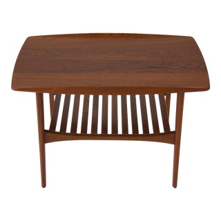 Kindt-Larsen Danish Modern Teak Side Table