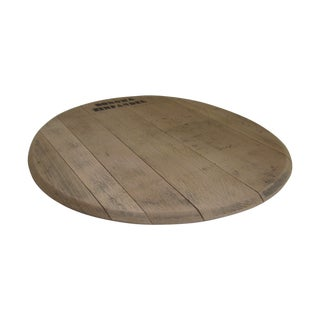 Sonoma Calif Wine Barrel Wood Serving Tray Board