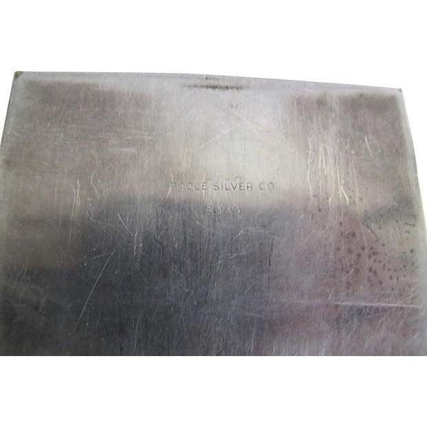Poole Silver Cigarette Box - Image 4 of 4