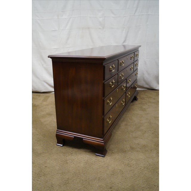 Councill Craftsman Chippendale Long Dresser - Image 3 of 10