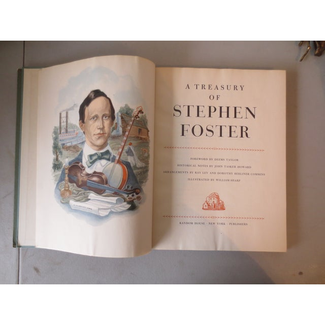 A Treasury of Stephen Foster, 1946 1st Edition - Image 4 of 7