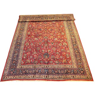 "Persian Khorassan Carpet- 10'6"" x 17'3"""