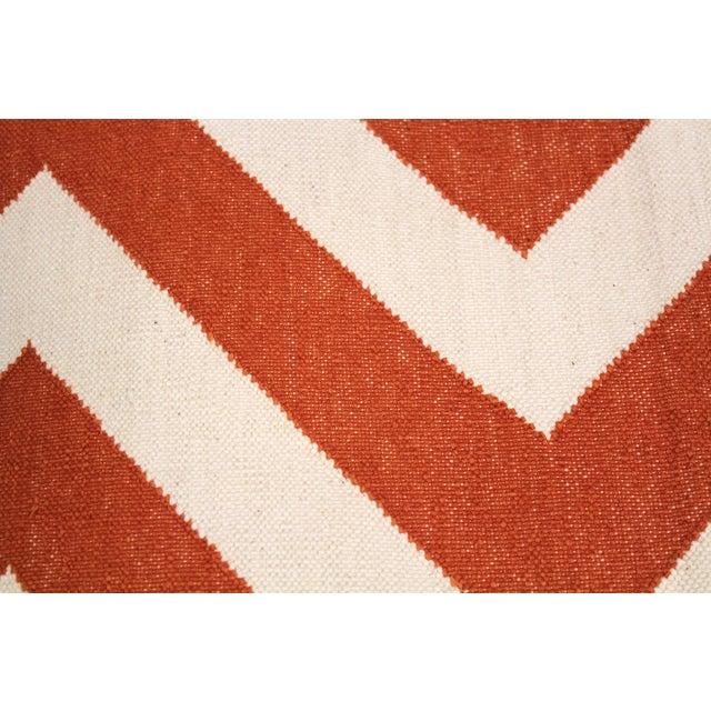 """Image of Madeline Weinrib Orange """"Lupe"""" Rug - 9' x 12'"""