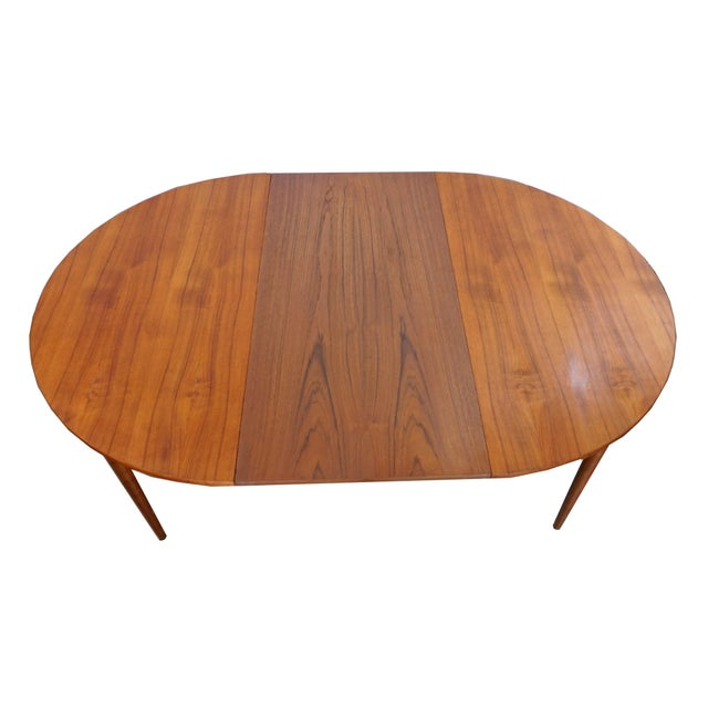 Image of Rosengaarden Teak Dining Table with Leaf