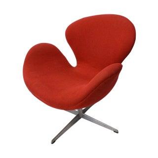 Arne Jacobsen Swan Chair Fritz Hansen Mid-Century