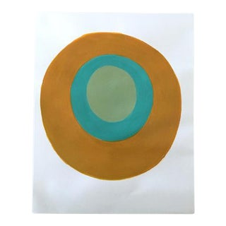 """Neicy Frey """"Dot No. 32, Brass Band"""" Original Painting on Paper"""