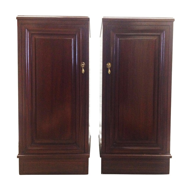 Mahogany Speaker Cabinets - Pair - Image 2 of 8