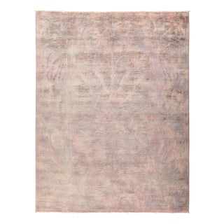 "Vibrance Over Dyed Hand Knotted Area Rug - 8'1"" x 10'1"""