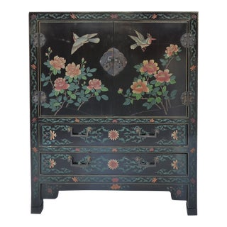 Antique Chinese Coromandel Cabinet