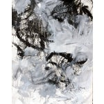 Image of Abstract Painting on Paper - Untitled