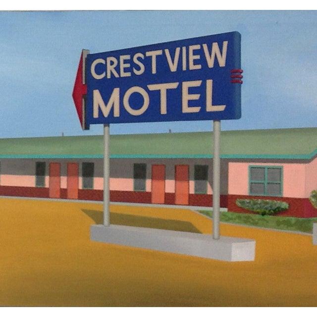 modern realist california oil painting crestview chairish. Black Bedroom Furniture Sets. Home Design Ideas