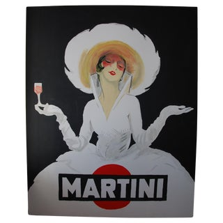 Vintage Martini Art Painting