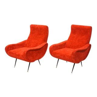 Italian Mid-Century Modern Armchairs