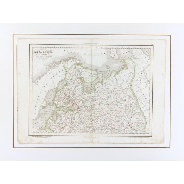 Antique European Russia Map, 1836 - Image 3 of 3