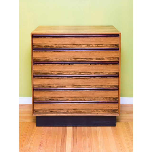 Mid Century Westnofa Rosewood Highboy Dresser - Image 7 of 11