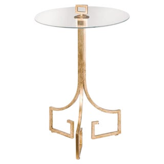 Chic Gold Side Table