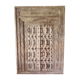 Raja Old Door Armoire