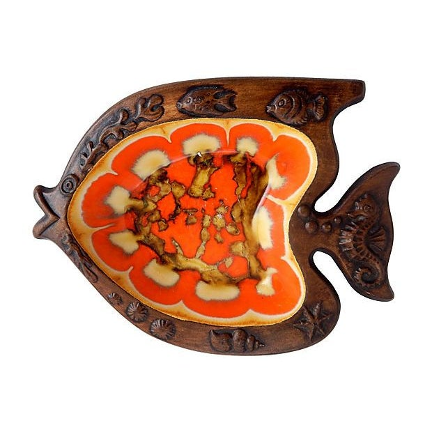 Mid-Century Modern Fish Serving Dishes - A Pair - Image 3 of 6