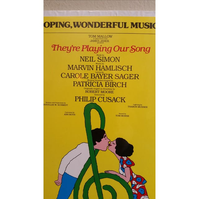 1970s Museum Mount Neil Simon Musical Poster - Image 4 of 5