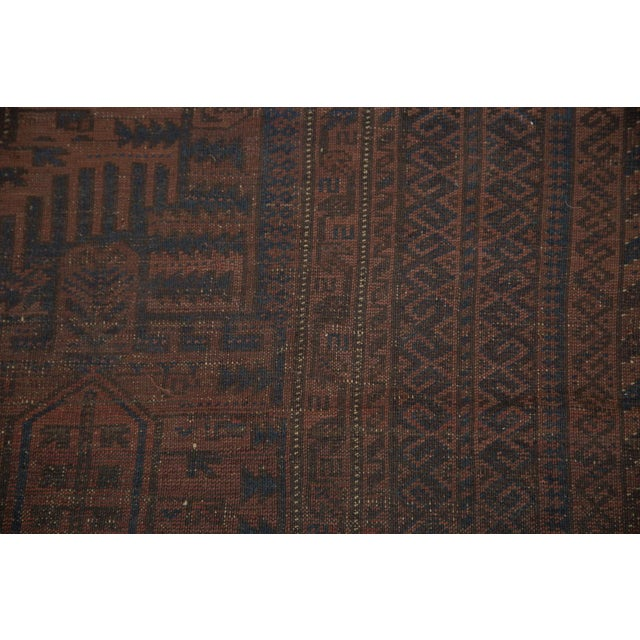 "Vintage Belouch Carpet - 4'8"" x 8'3"" - Image 6 of 9"
