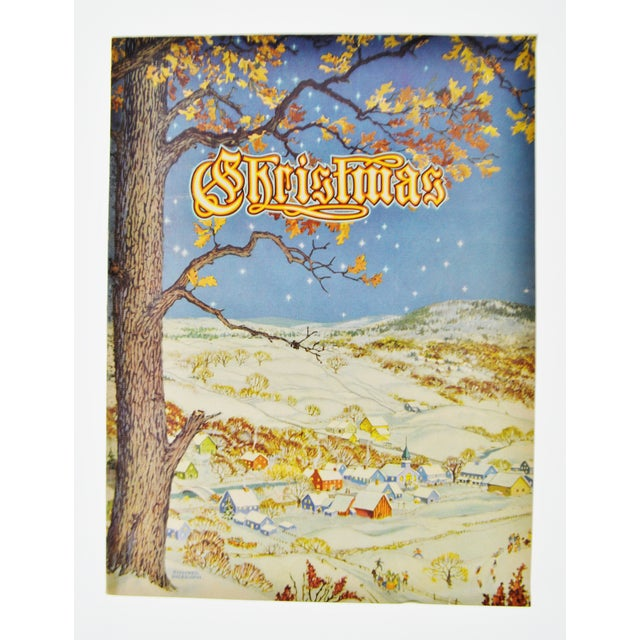 """""""Christmas: An American Annual of Christmas Literature and Art"""" 1943 Book - Image 2 of 10"""