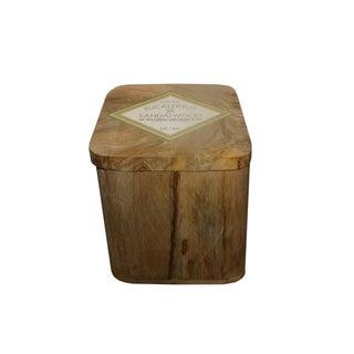 Wooden Eucalyptus & Sandalwood Candle