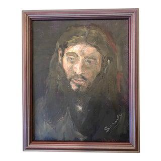 David Sarrett Copy of Rembrandt's Study of Jesus
