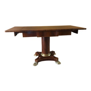 English Mahogany Drop-Leaf Table
