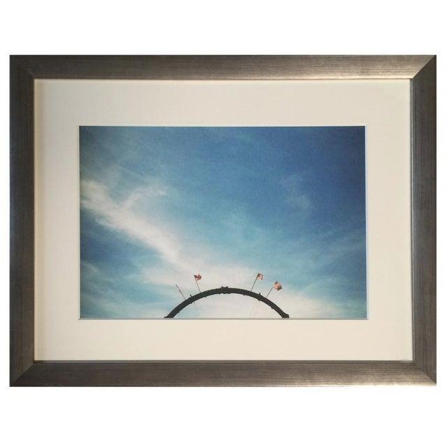 Image of Framed Sky Photograph by Bernadette Torres