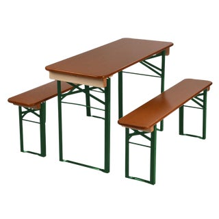 Beer Garden Table & Bench Set