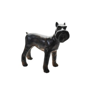 1920s Bronze Scottie Dog Sculpture