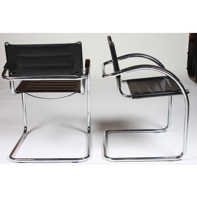 Image of Mid Century Mod Chrome Chairs - Set of 5