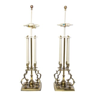 Tommi Parzinger Style Stiffel Table Lamps - Pair