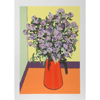 "Patricia Sussman ""Wild Flowers"" Serigraph"
