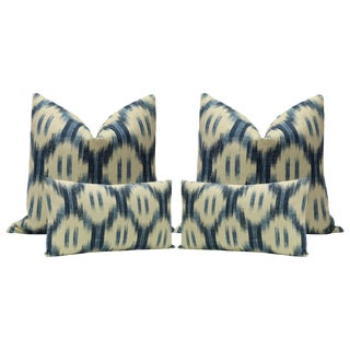 Pierre Frey Leandre Indigo Pillows - Set of 4