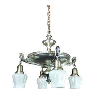 Original Silver-Plated Pan Light (4-Light)