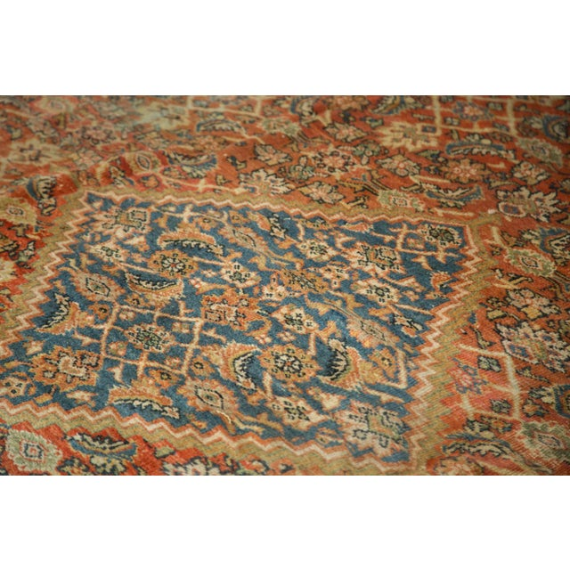 "Antique Mahal Square Carpet - 9'11"" x 9'8"" - Image 4 of 10"