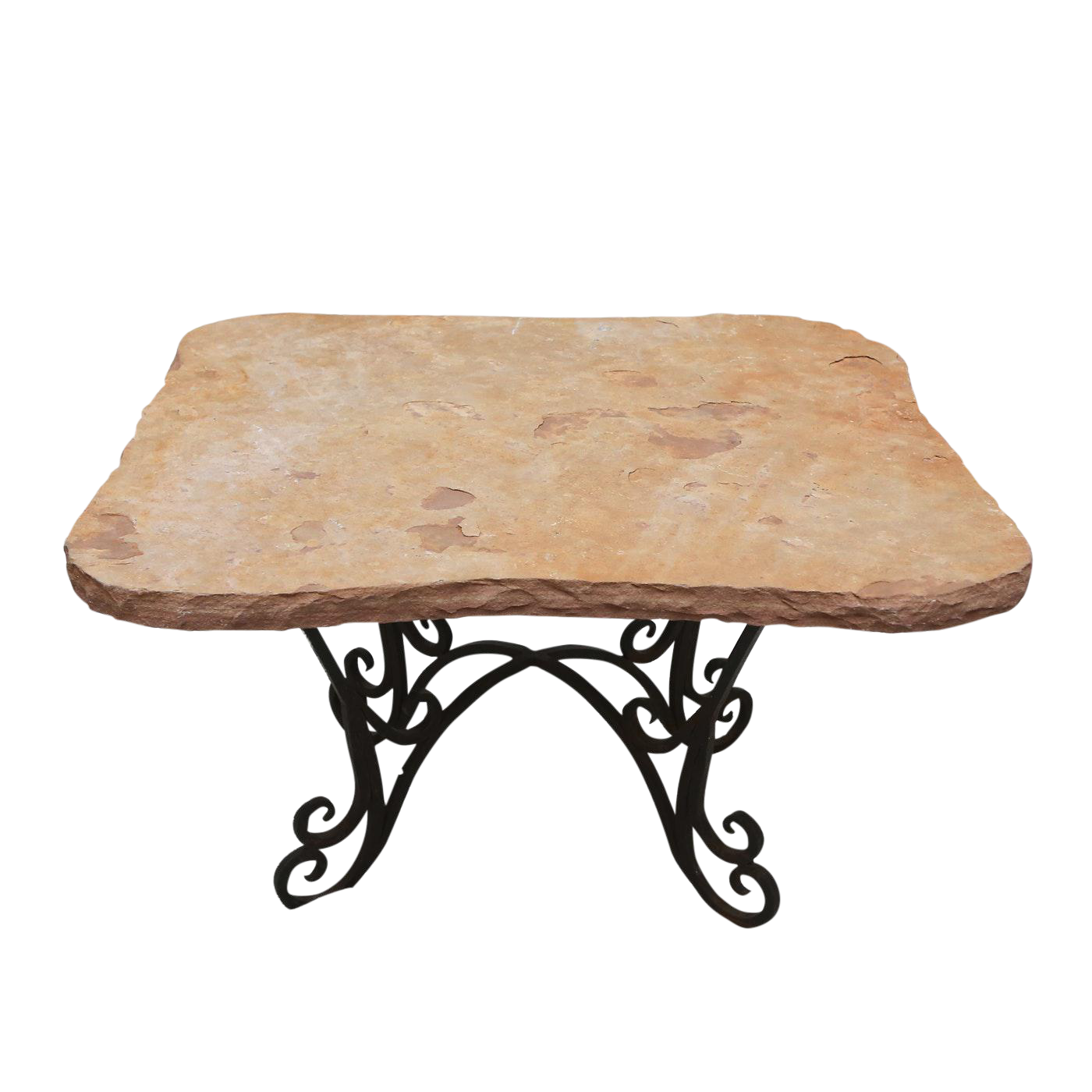 Natural Cut Stone Table
