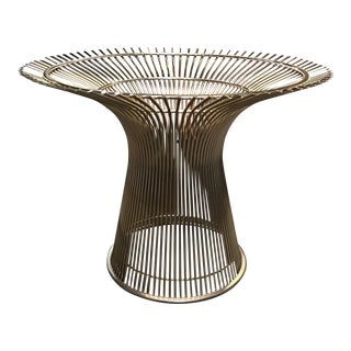 Knoll Platner 18k Gold Plated Table Base