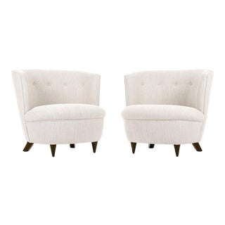 Gilbert Rohde Pair of Lounge Chairs