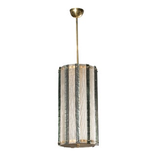 Large Murano Piastra Gass Pendant or Lantern