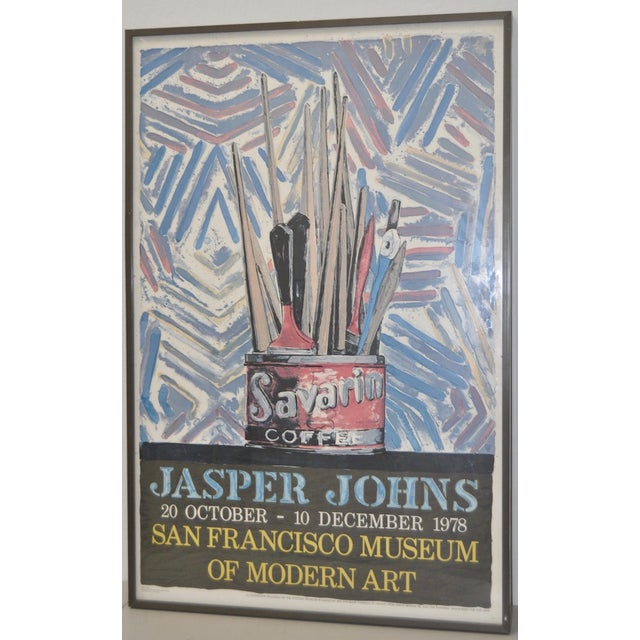 Jasper Johns Exhibition Poster C.1978 - Image 3 of 7