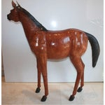 Image of Abercrombie Vintage Life Size Leather Pony