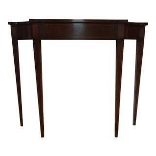Vintage Demi Lune Console Table