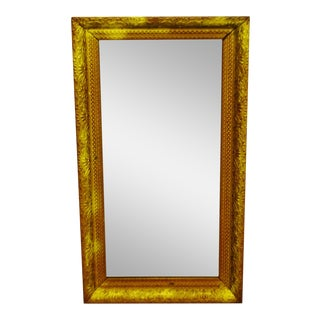 Gold Gilt Gesso Framed Wall Mirror