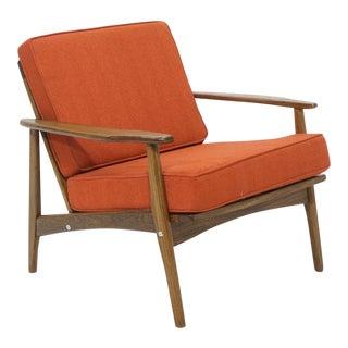 Scandinavian Modern Teak Lounge Chair