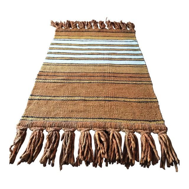 Mid-Century Handwoven Rug - Image 1 of 8