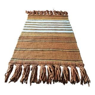 Mid-Century Handwoven Rug